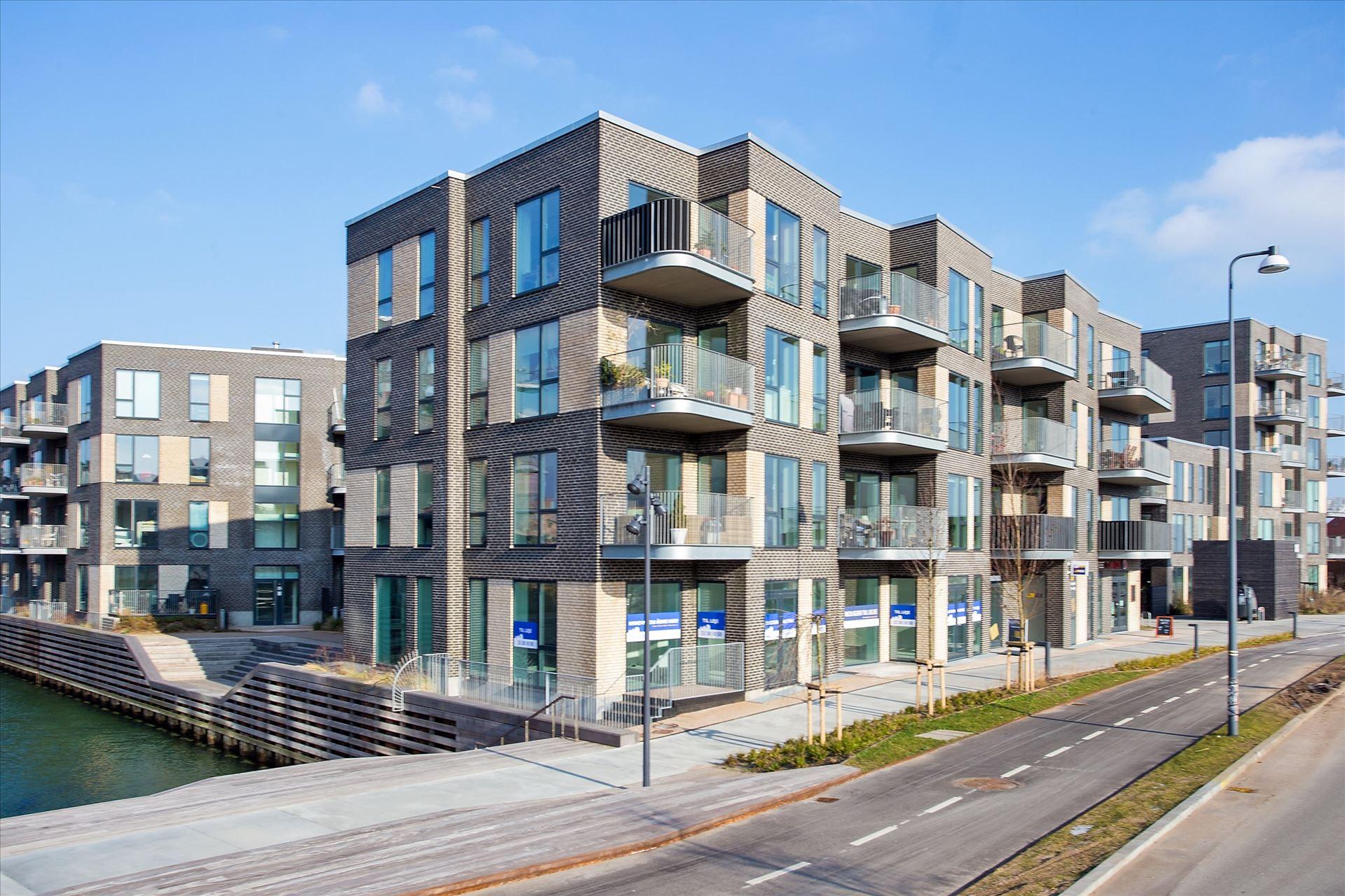 103 m² butik – ved Nordhavn – momsfri