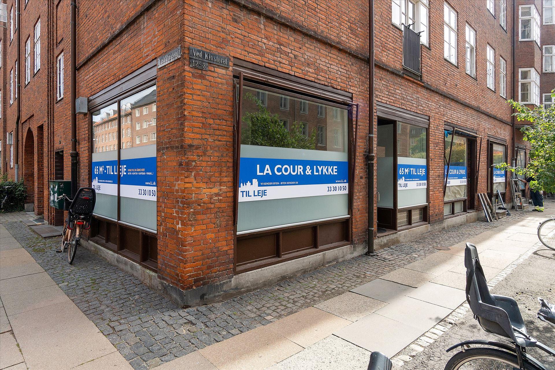 65 m² momsfri butik på Østerbro