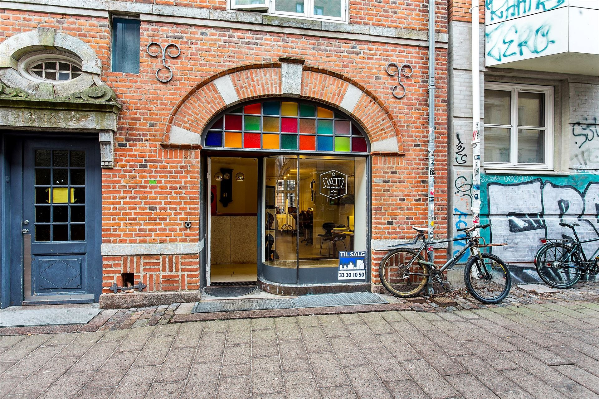 61 m² erhvervsandel – Blågårdsgade