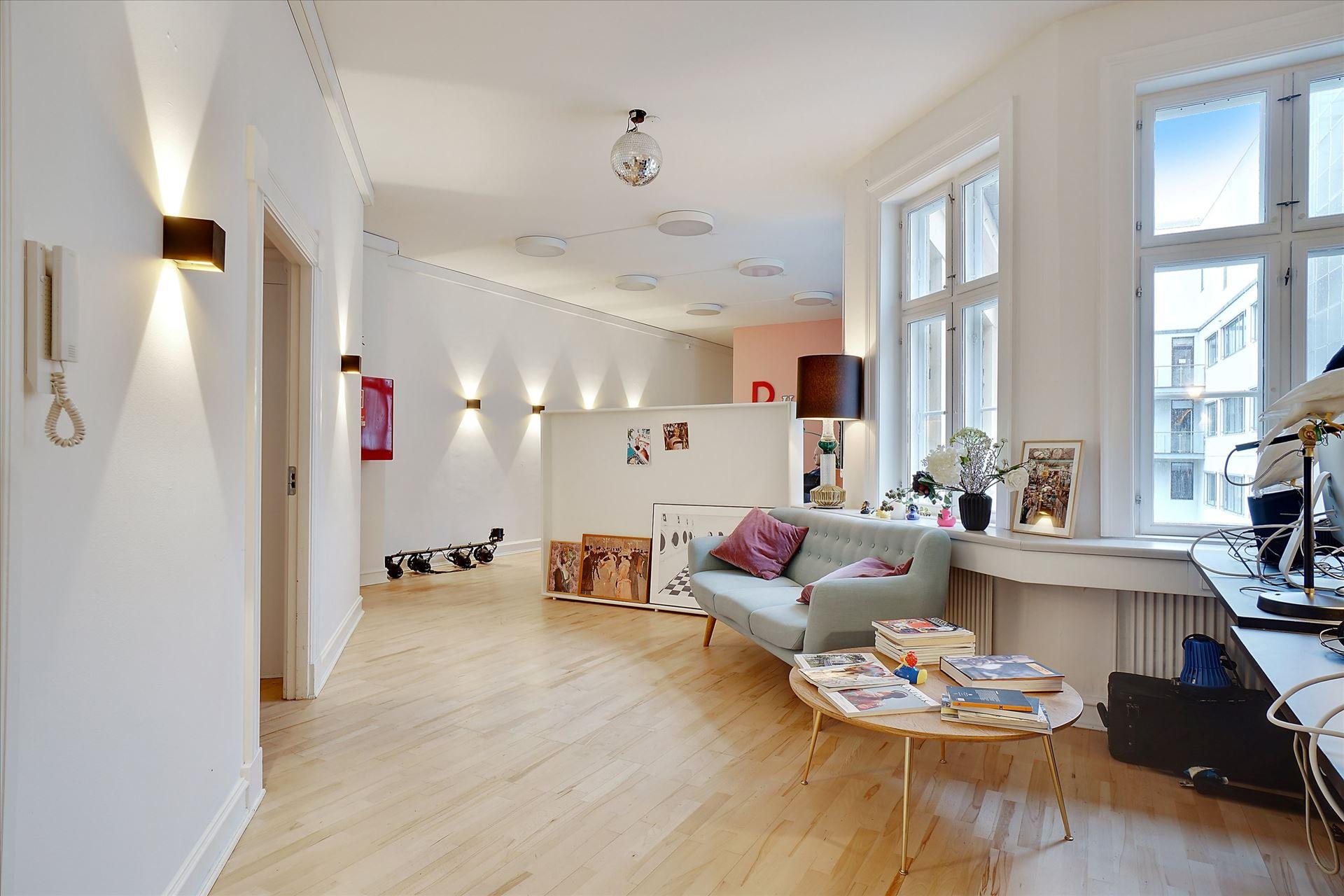 275 m² kontor  – ny istandsat