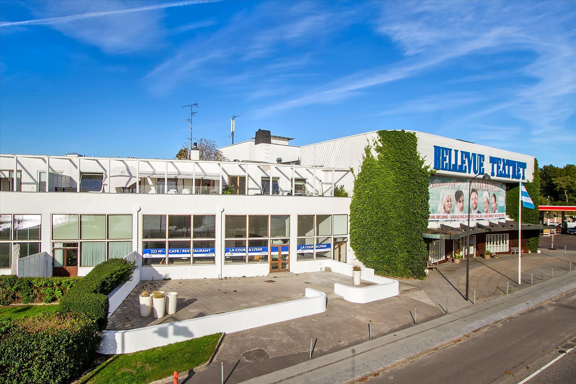 223 m² restaurant til salg – Bellevue