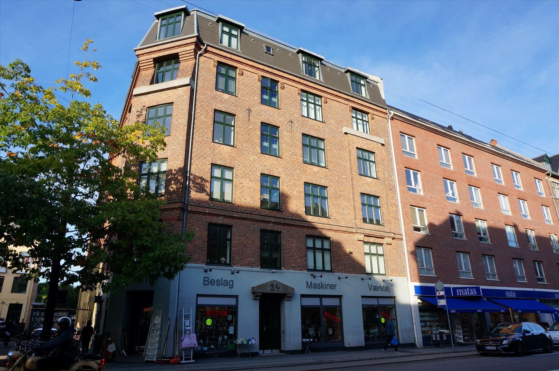 191 m² butik på Godthåbsvej