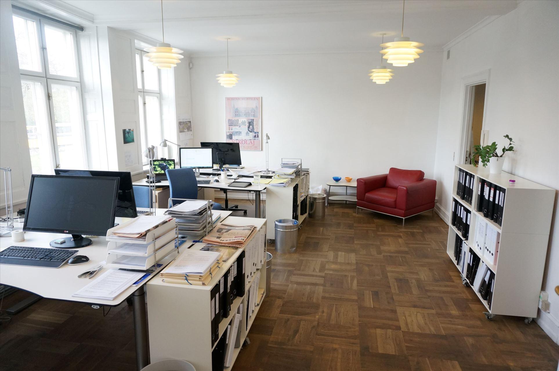 96 m² kontor – momsfrit v. Nørreport St.