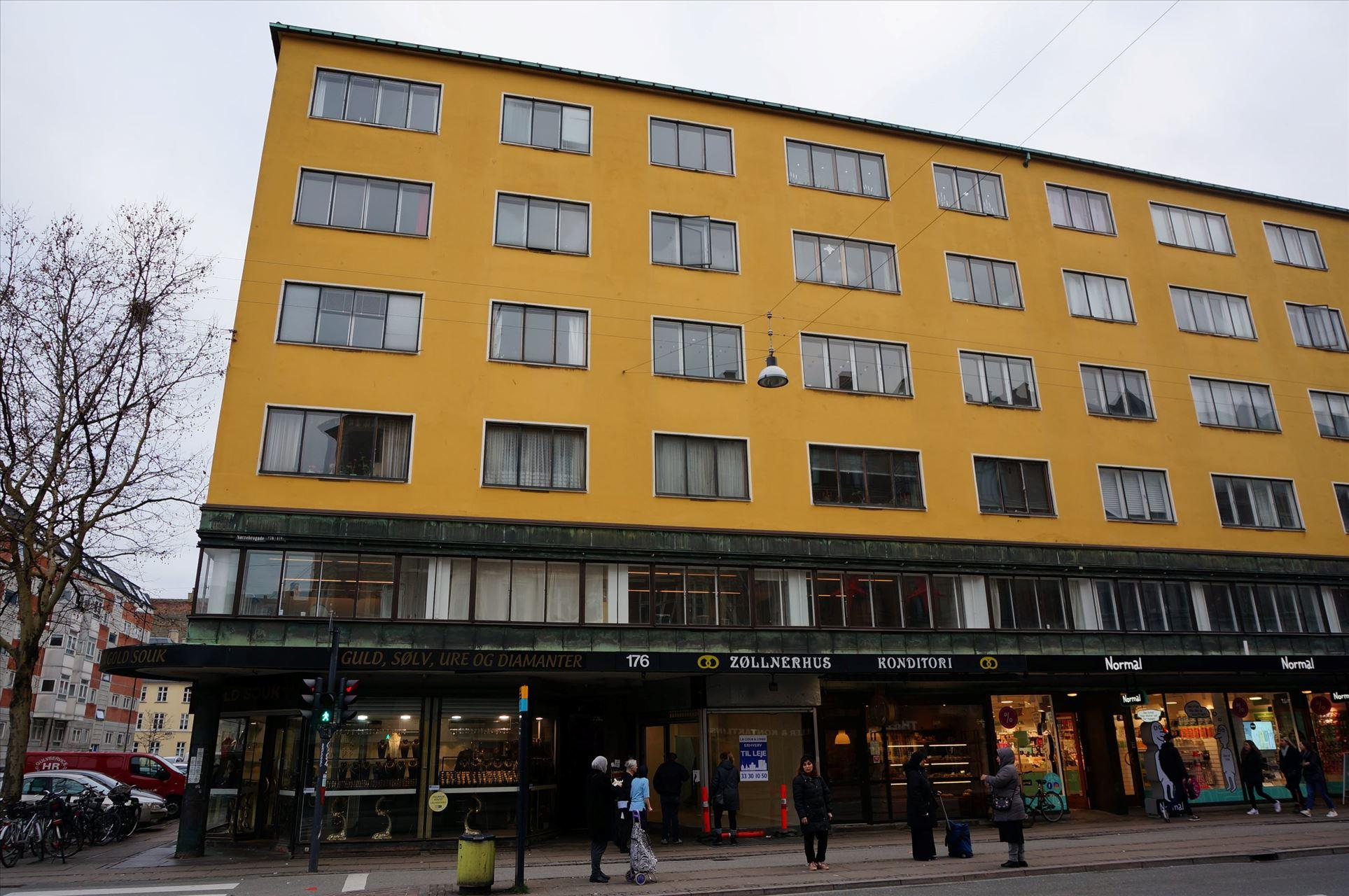 81 m² butik midt på Nørrebrogade