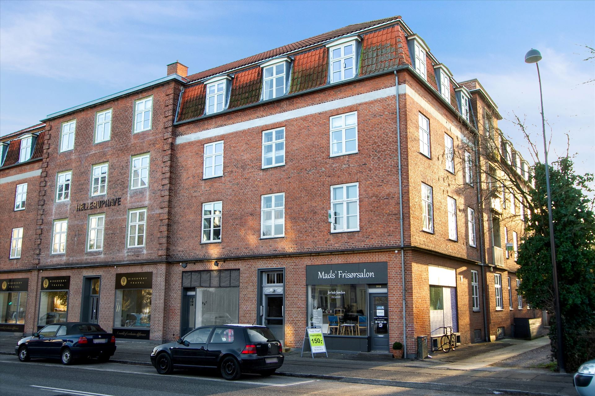 70 m² butik i Hellerup – Investering