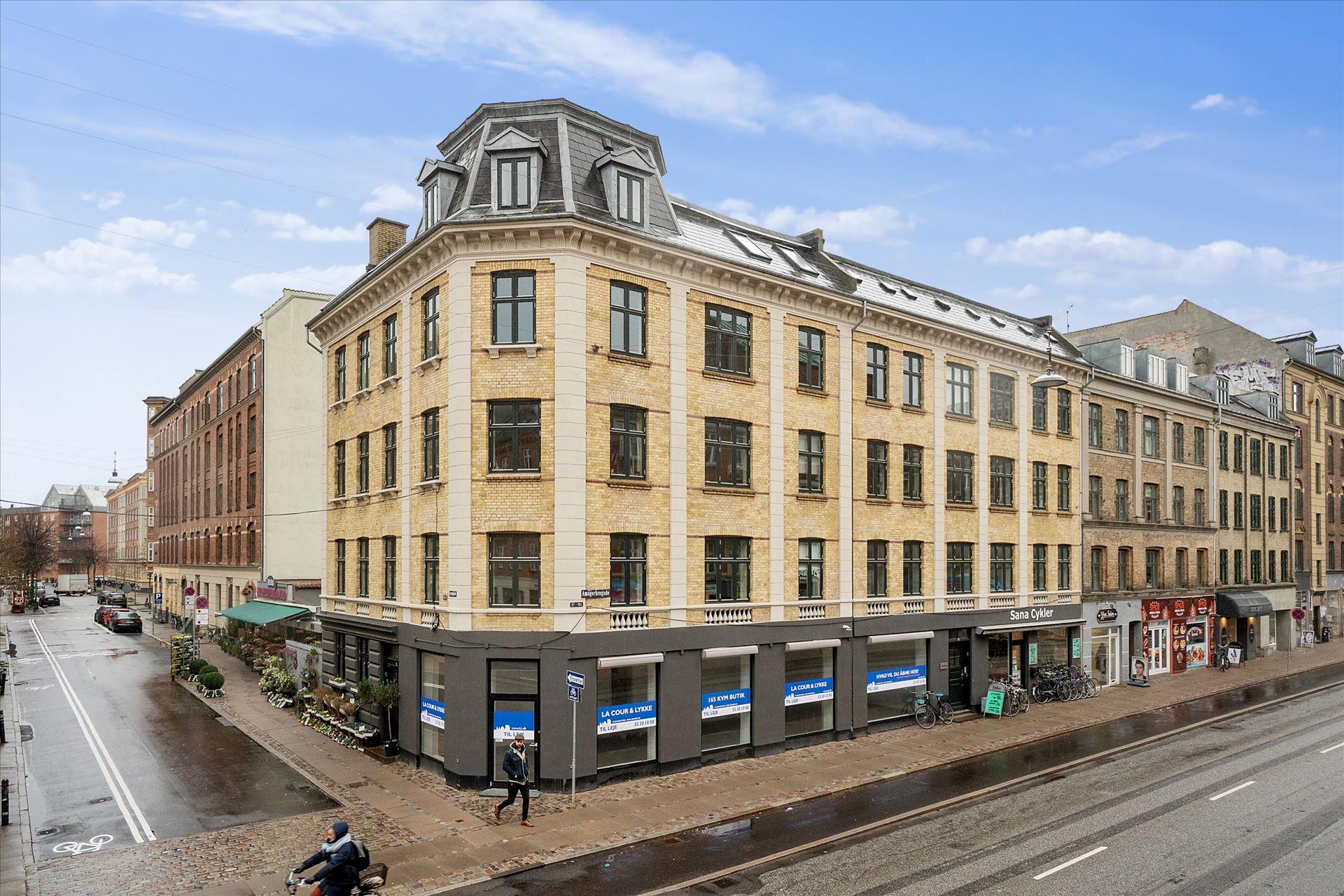 165 m² hjørnebutik – Amagerbrogade