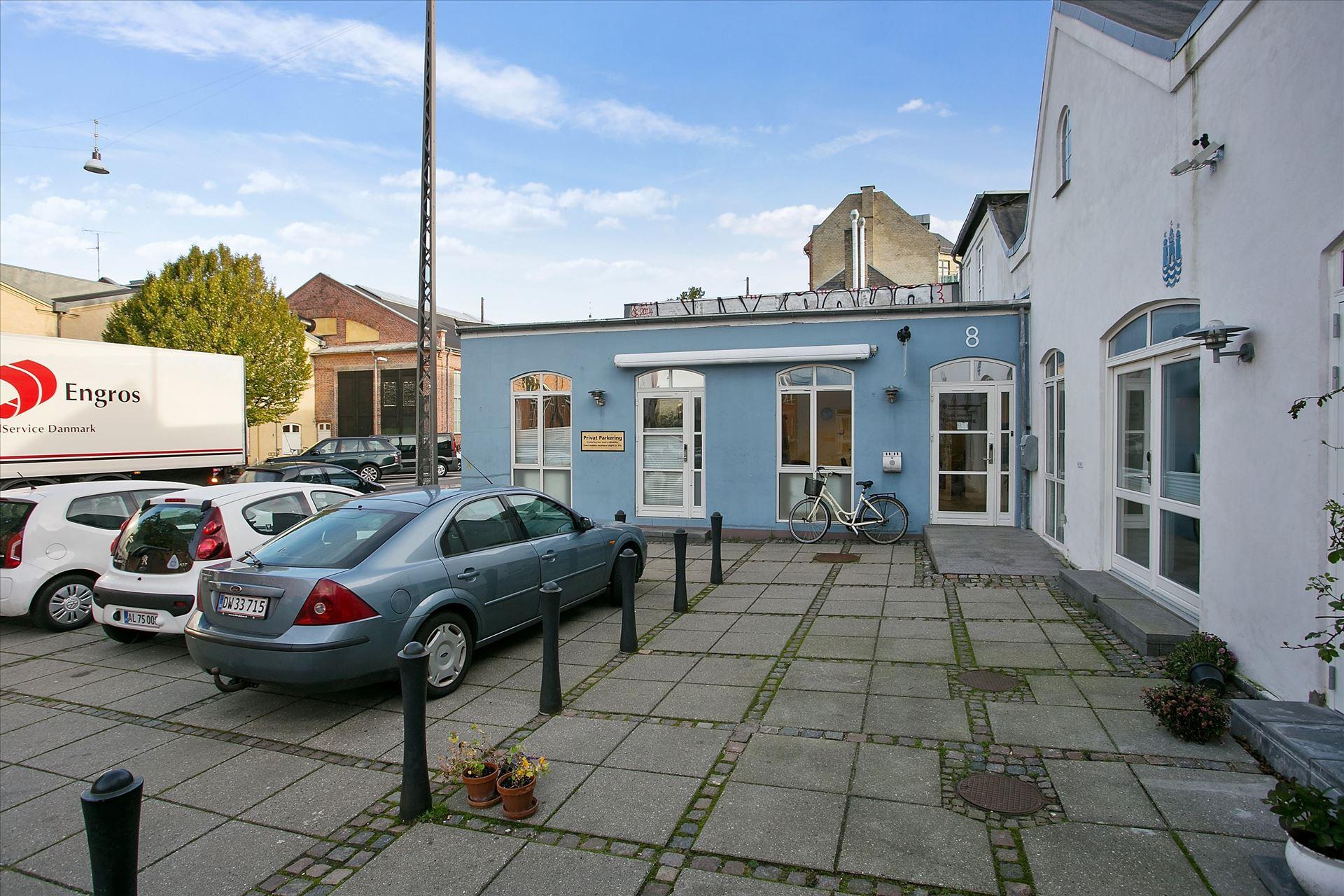 343 m² café/kontor ved Nørrebro st.