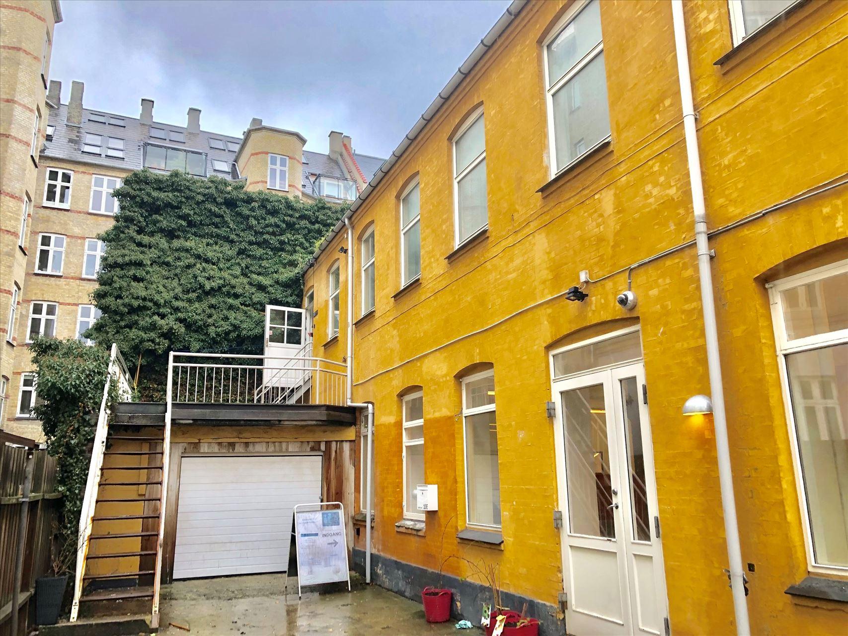318 m² kontor midt på Nørrebro