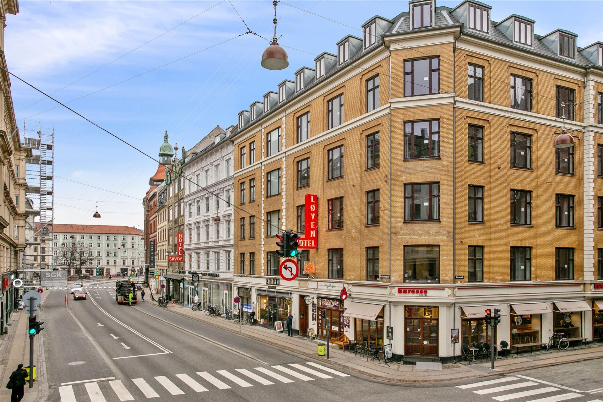 167 m² synlig hjørnebutik