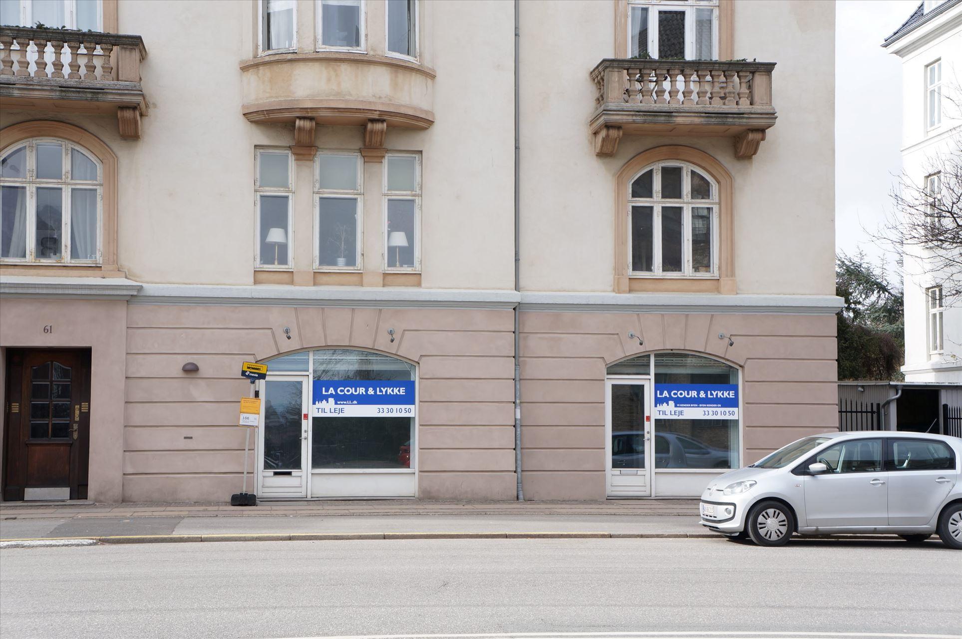 230 m² butik/kontor på Strandvejen