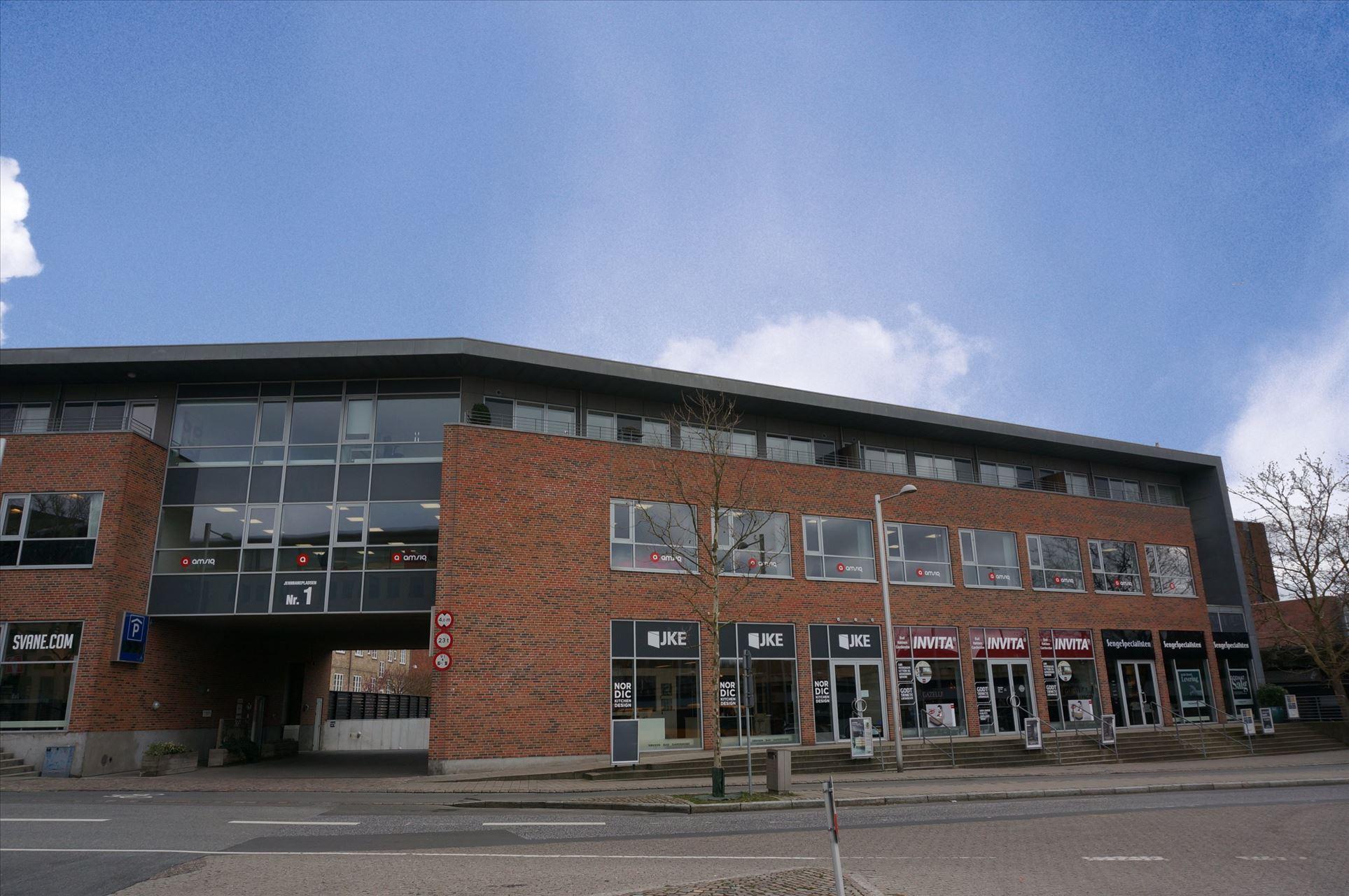 Kontorfællesskab lige ved Lyngby St.