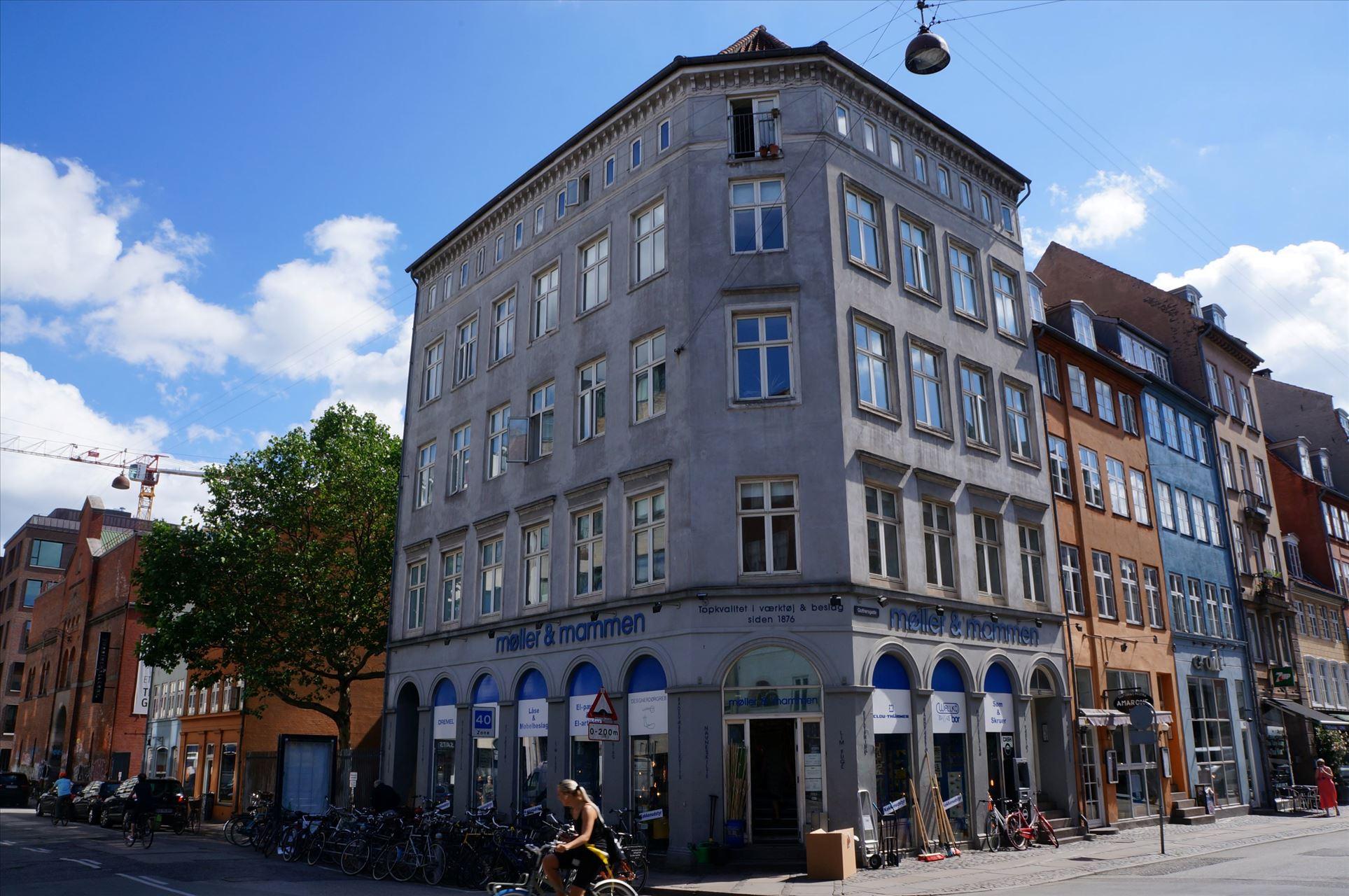 158 m² lyse kontorlokaler – Gothersgade