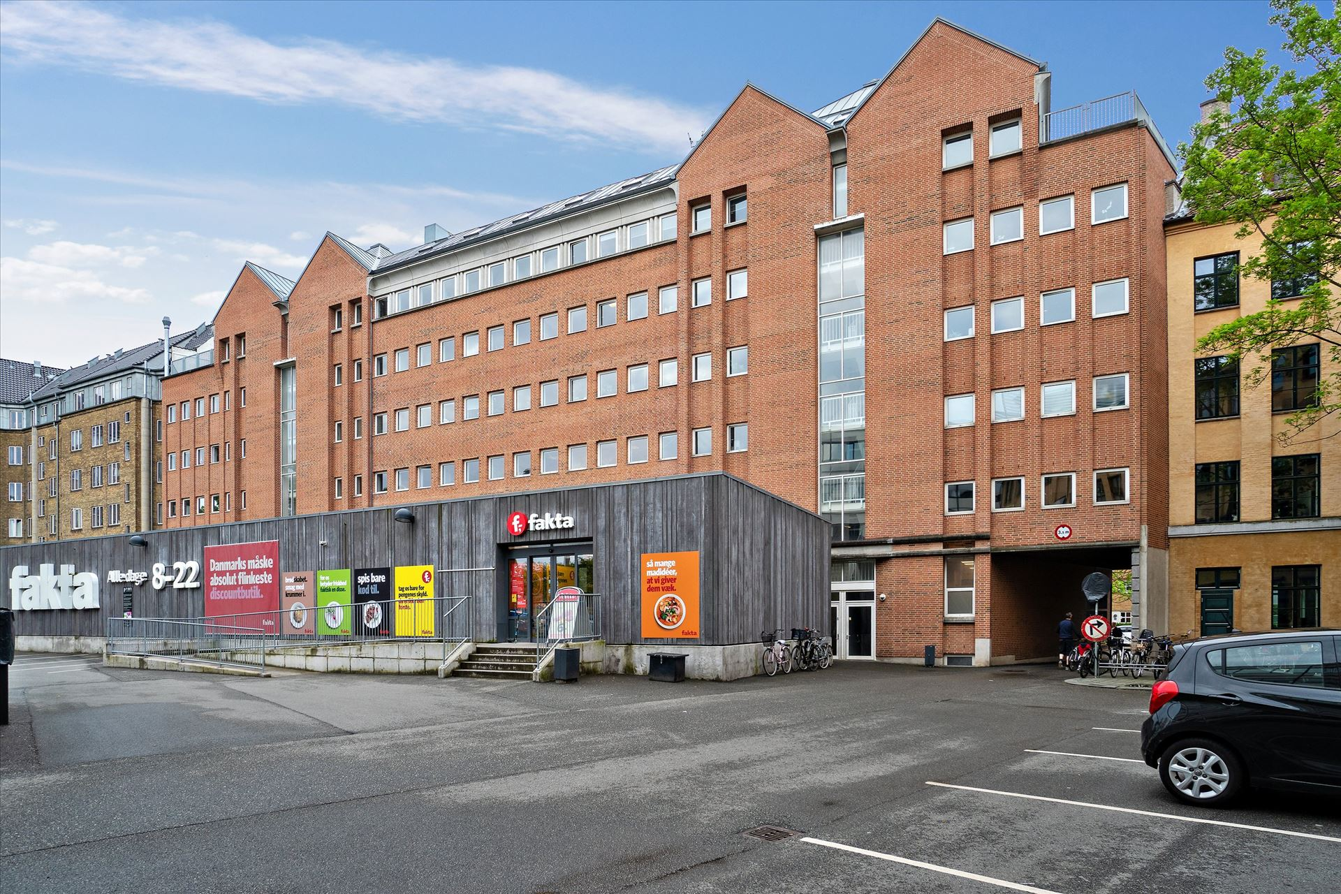 152 m² lager på Frederiksberg