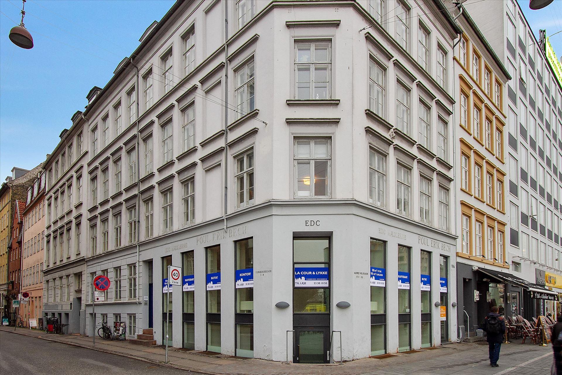 183 m² café på Nørreport – momsfri