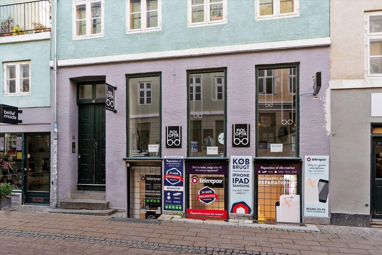 69 m² butik • Fiolstræde • momsfri