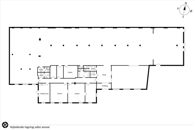 Plantegning - Bragesgade 8B, st.
