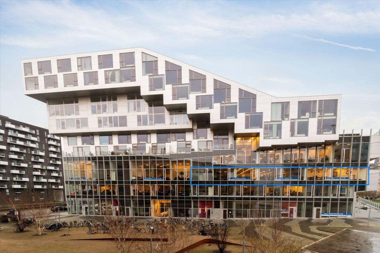 505 m² kontor – 8-tallet / Ørestad