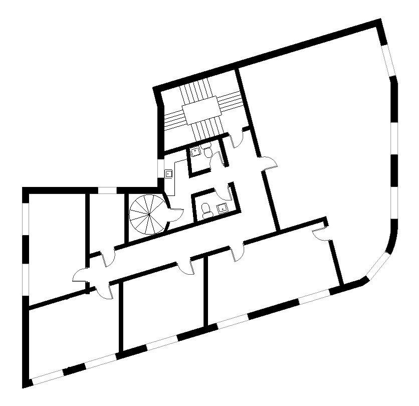 Plantegning - Lyngby Hovedgade 39, 3. sal