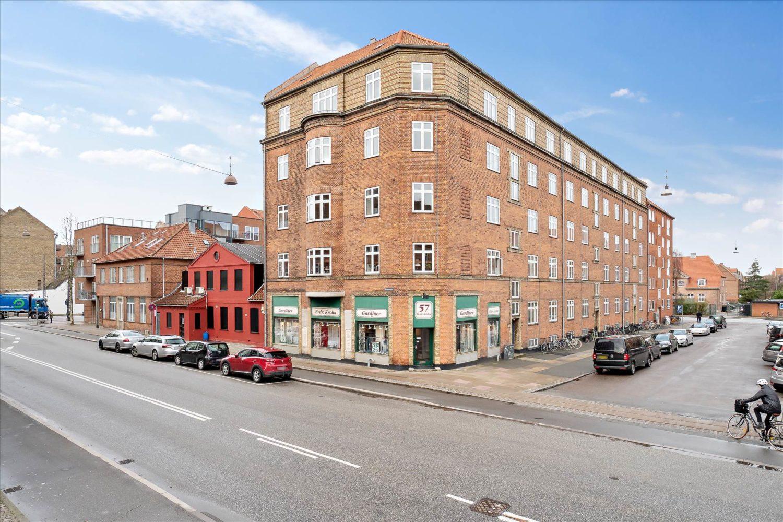 128 m² hjørnebutik • Øresundsvej • Andel