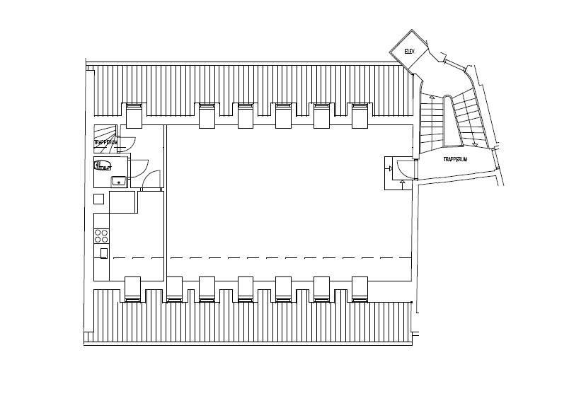 Plantegning - Vester Voldgade 83 5. th.