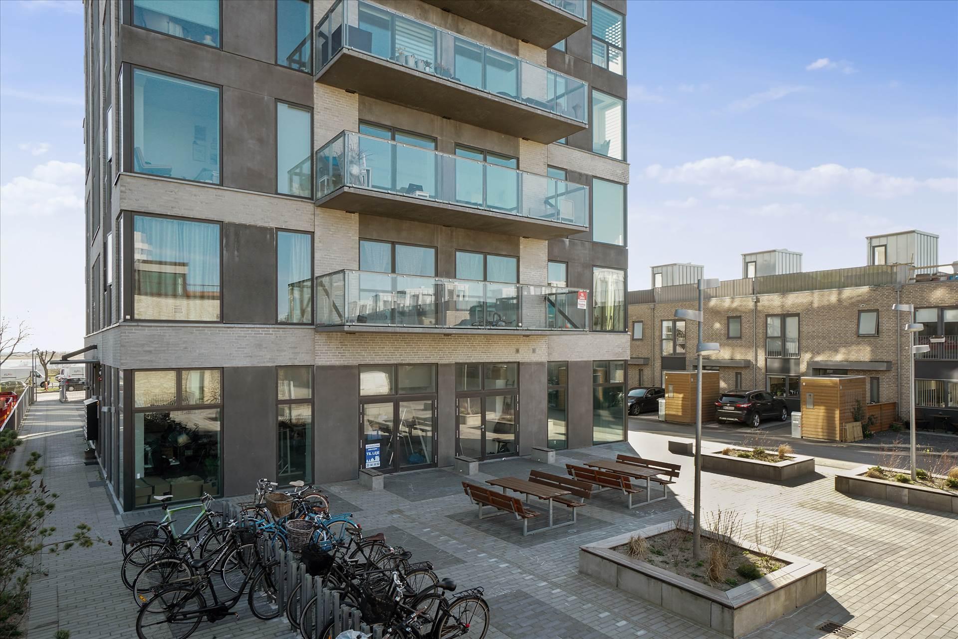 72 m² kontor/showroom – Amager Strand