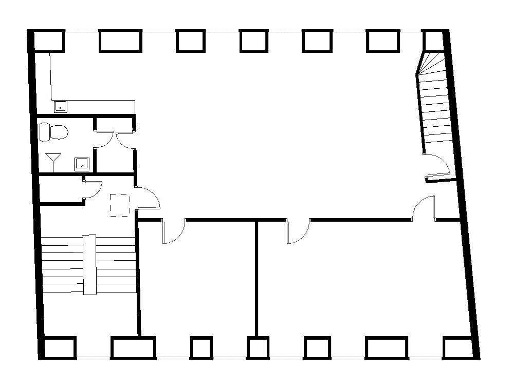 Plantegning - Sankt Peders Stræde 45, 3. sal