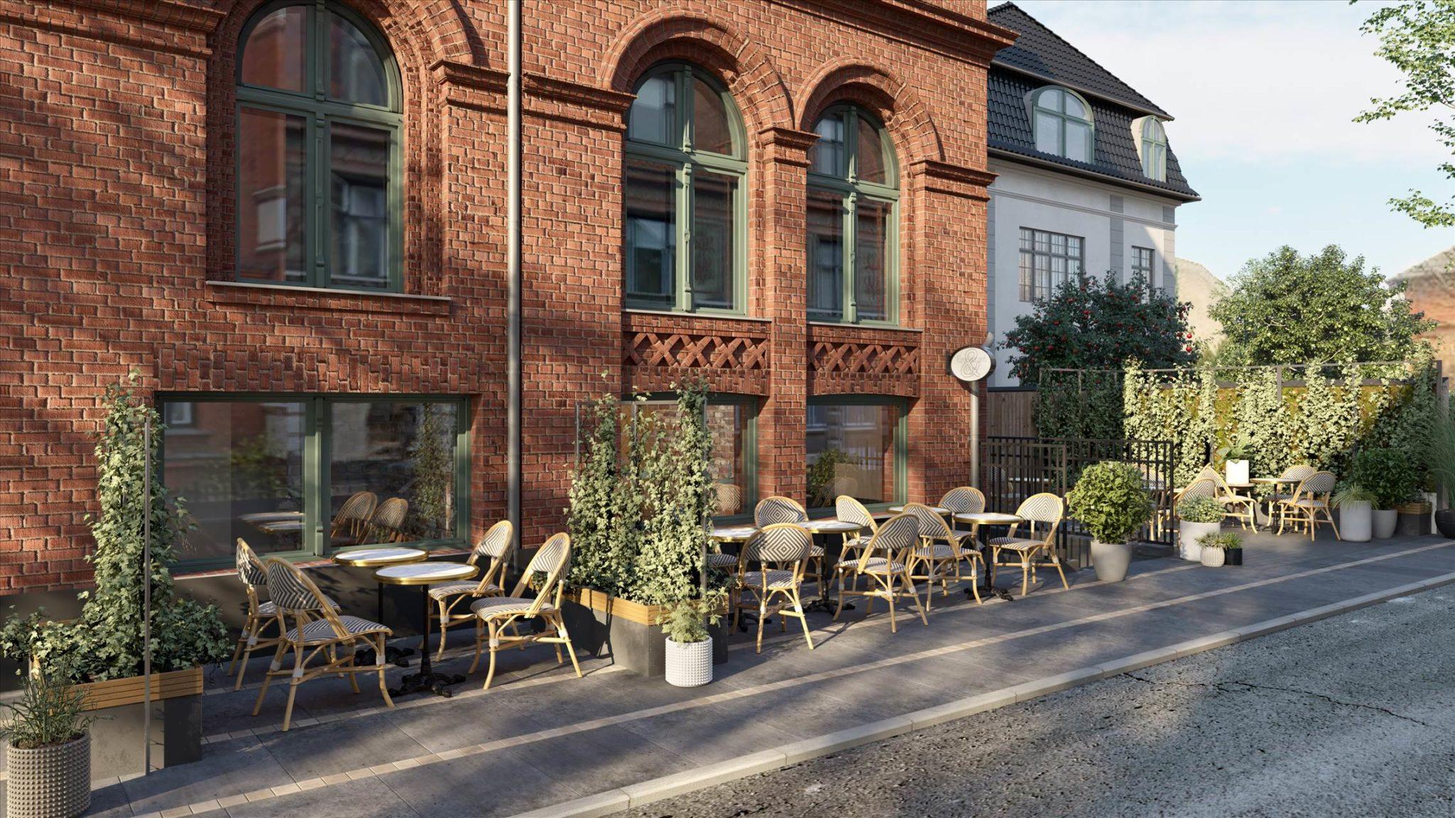 82 m² butik • Ved Gammel Kongevej
