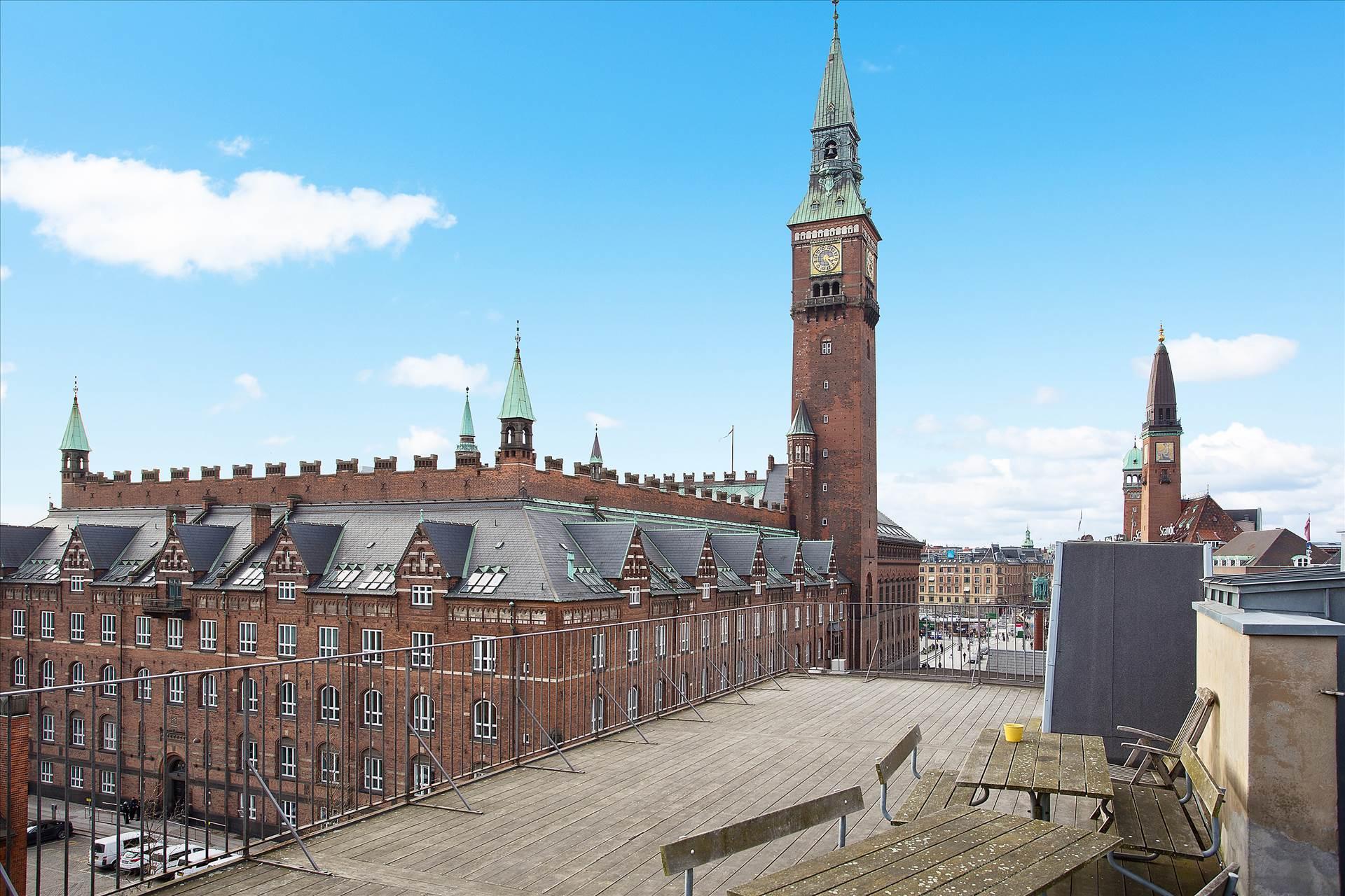 150 m² kontor • ved Rådhuspladsen