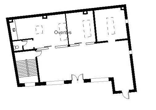 Plantegning - Sankt Peders Stræde 45B, 2. sal