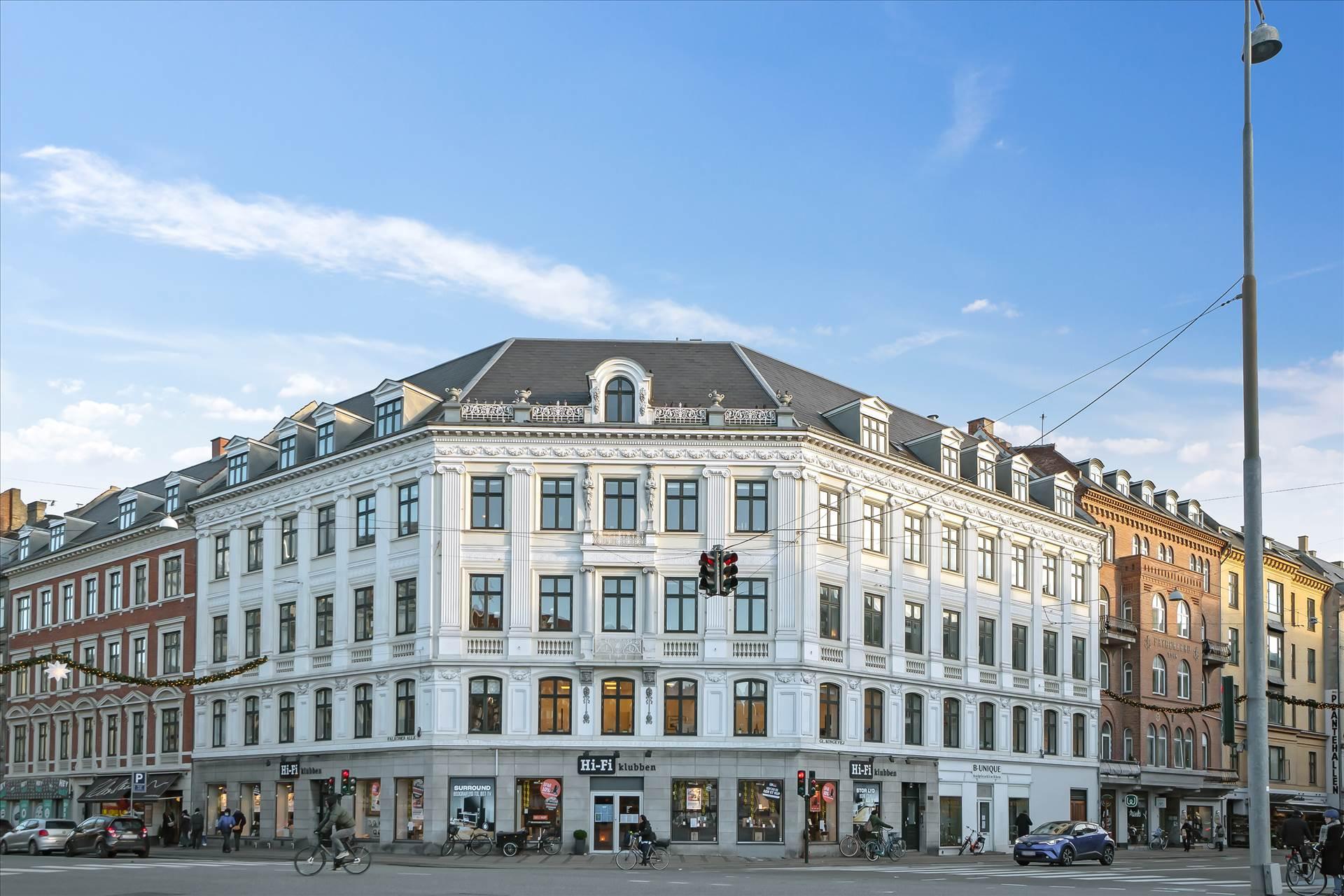 132 m² kontor • Ved Frederiksberg Rådhus