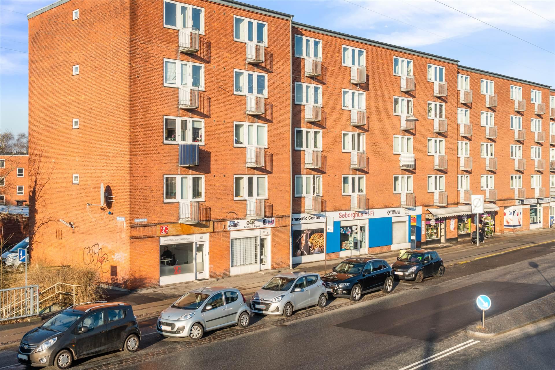 54 m² butik • Søborg