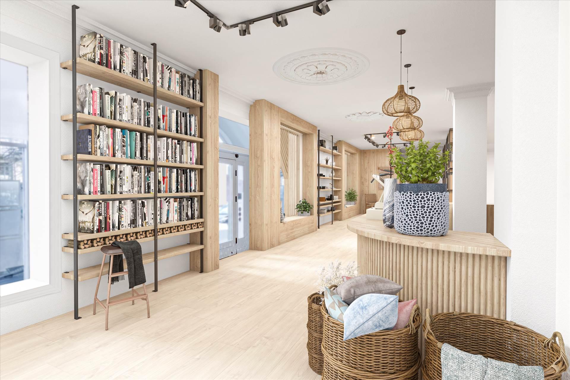 232 m² butik/kontor • Islands Brygge