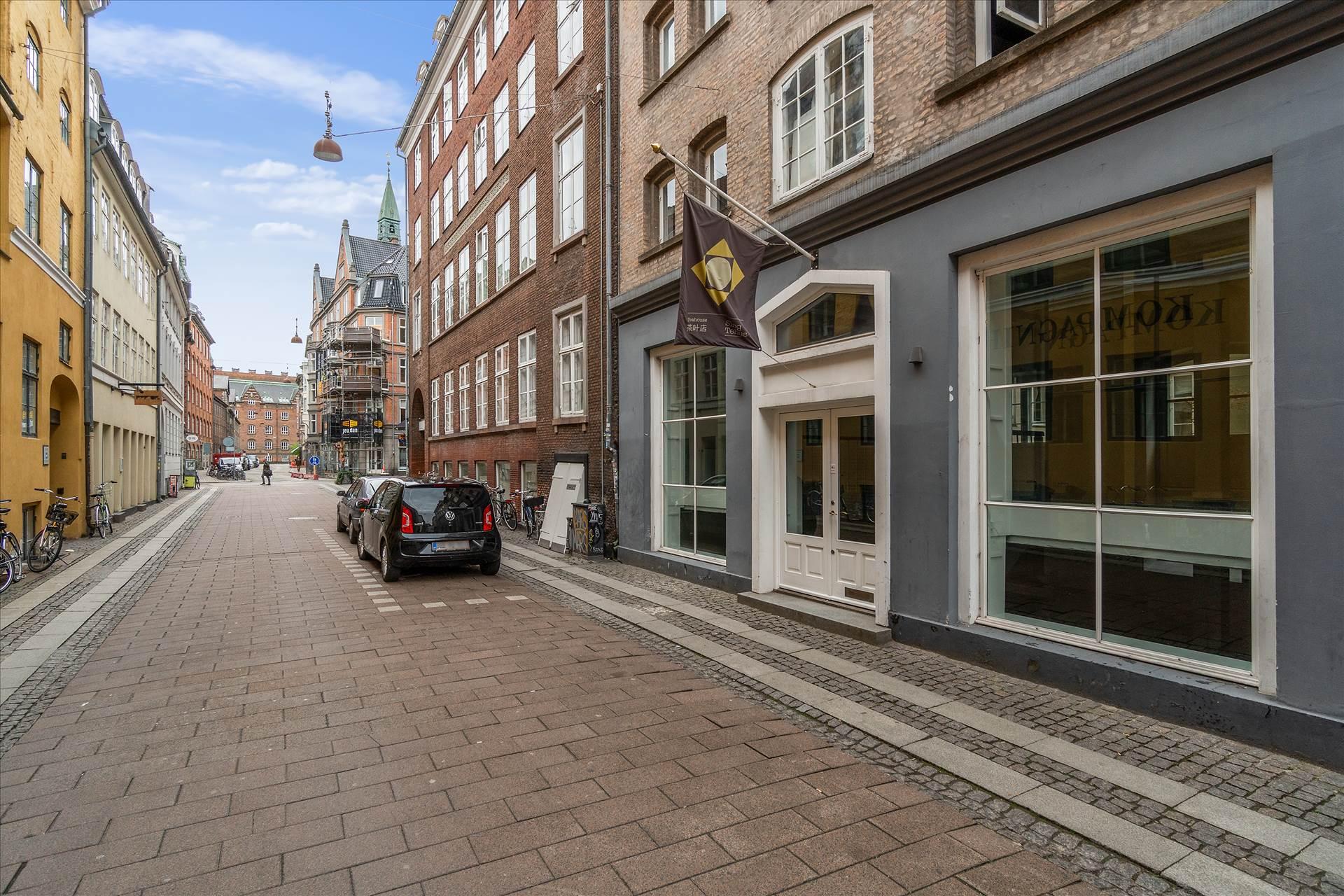 166 m² butik • Kompagnistræde