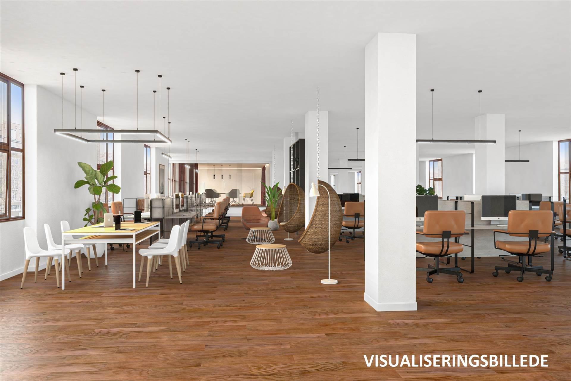 1.172 / 2.344 m² kontor • Østerbro