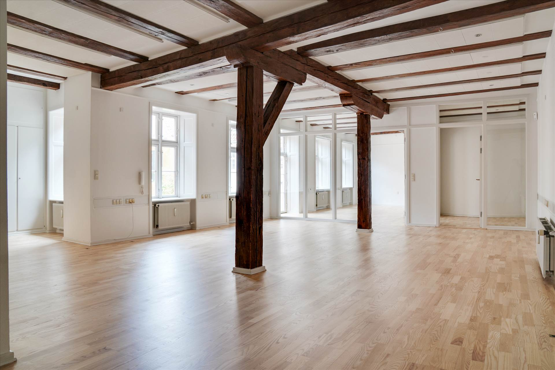 133 m² kontor • City