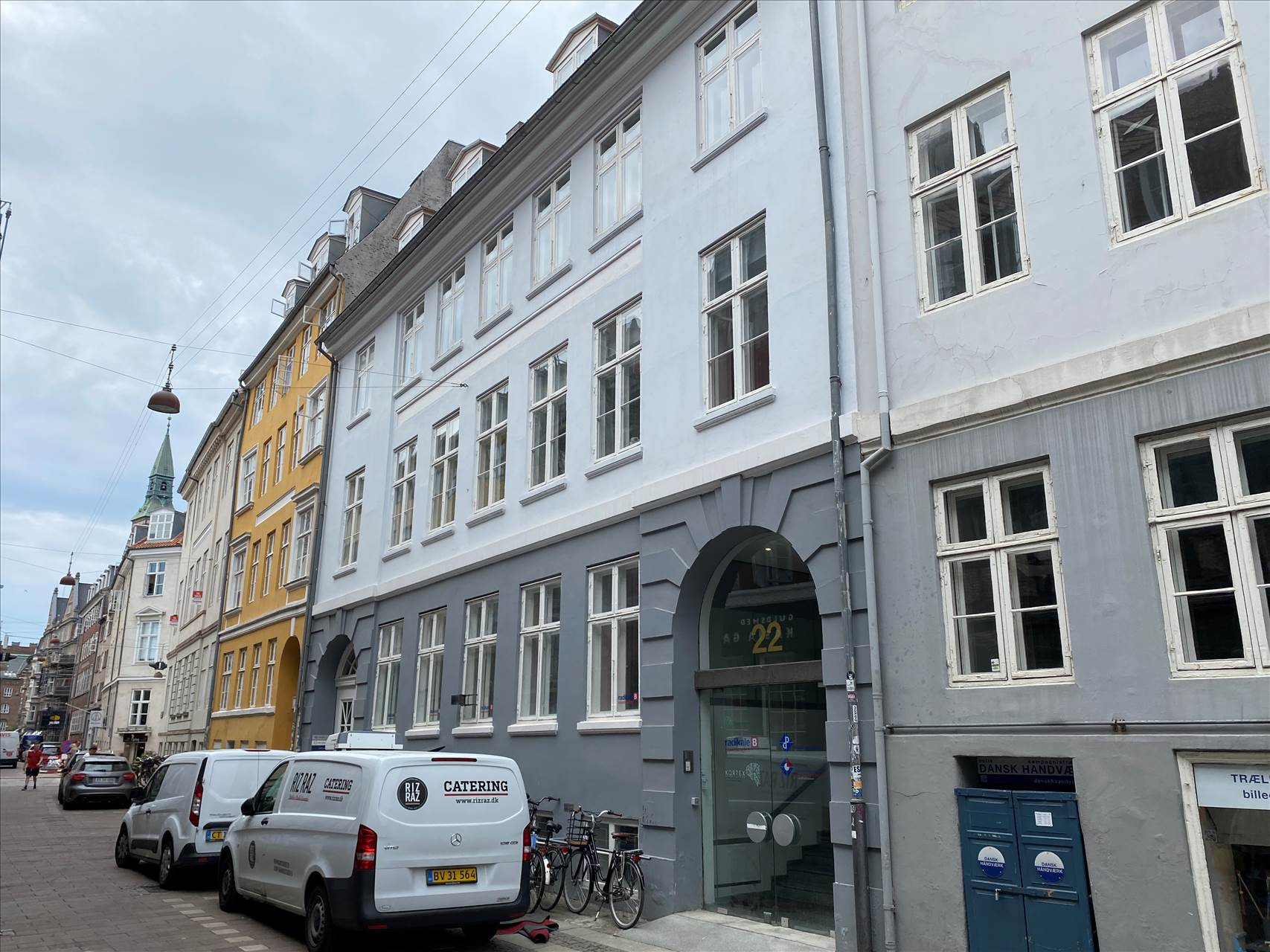 110 m² lager/arkiv • København K