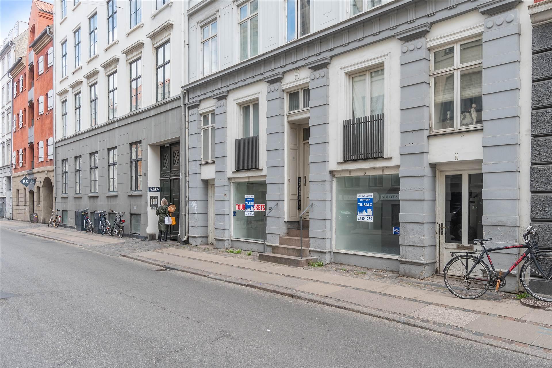 Butik i Toldbodgade 8A, kld. til salg