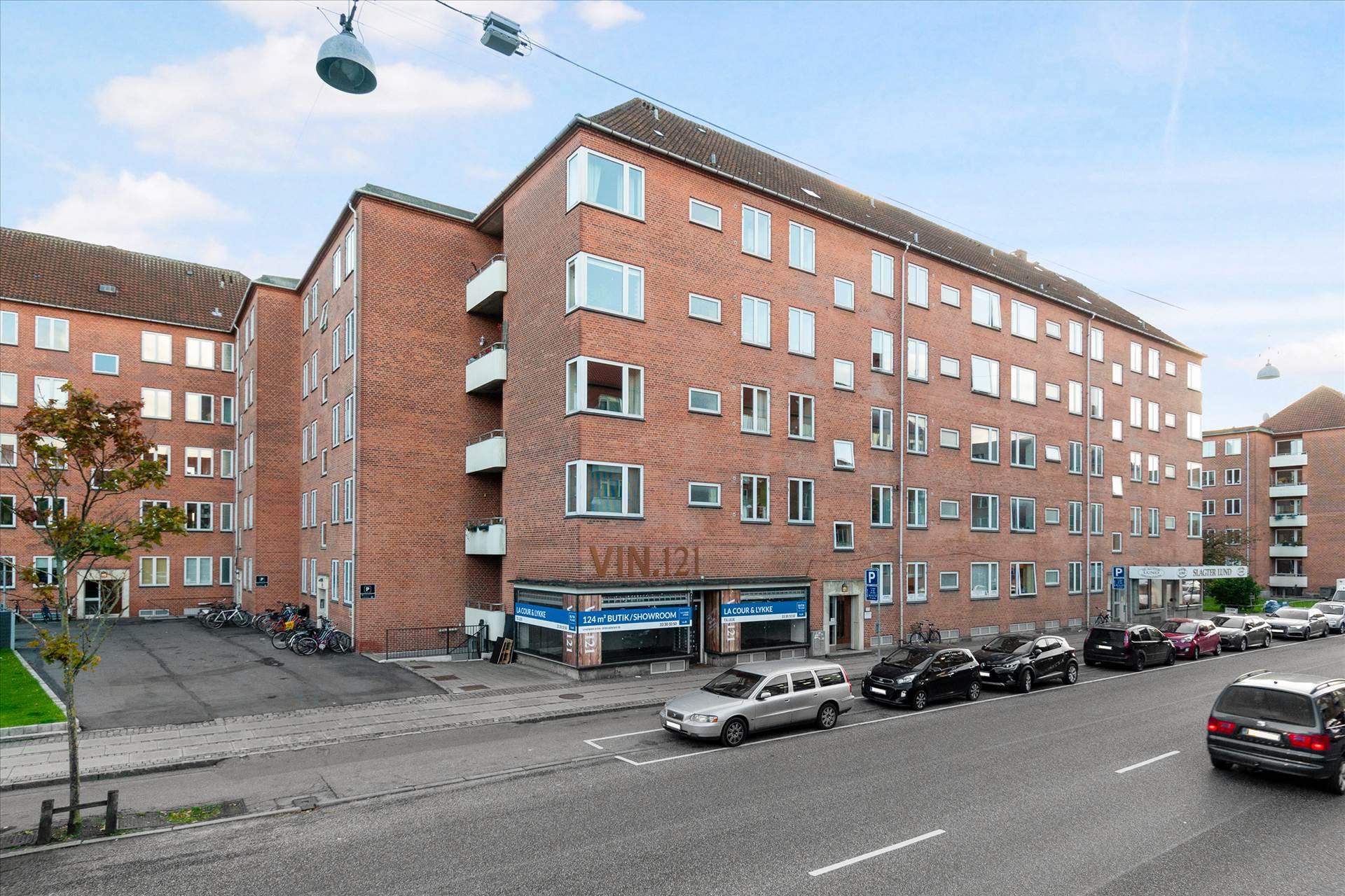124 m² butik / showroom • Frederiksberg